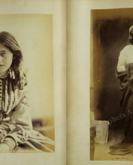 Rare photo album from the 19th century.